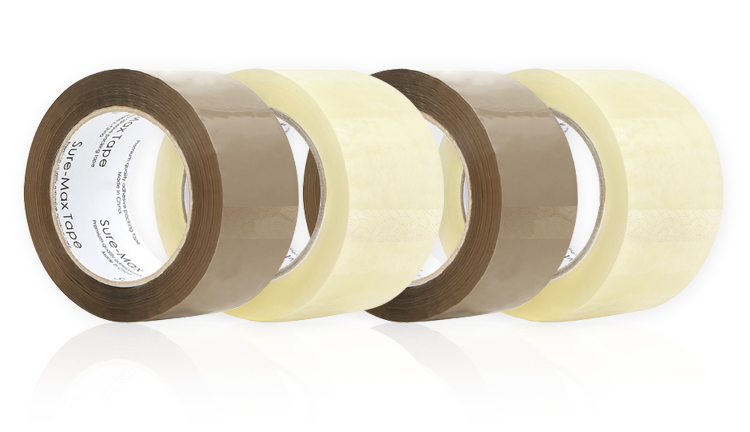 Sure-Max Premium Quality Adhesive Packing Tape