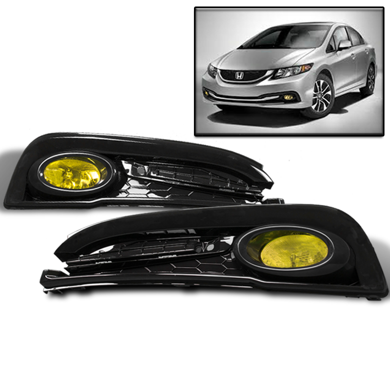 2015 honda civic si fog lights ebay autos post. Black Bedroom Furniture Sets. Home Design Ideas