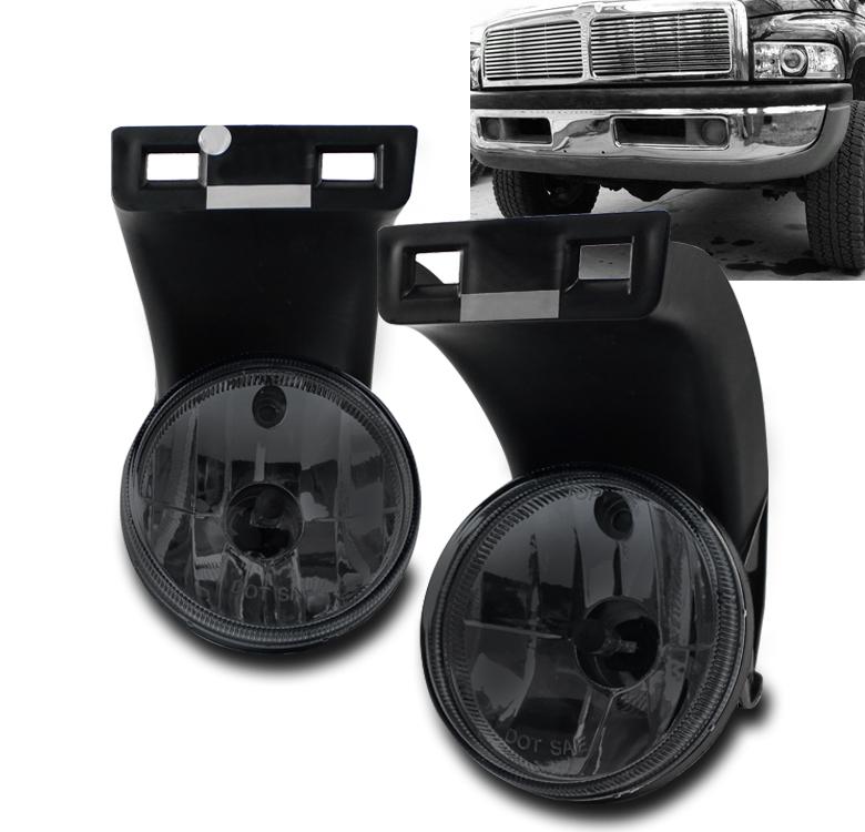 94 01 dodge ram 1500 2500 3500 pickup truck bumper fog. Black Bedroom Furniture Sets. Home Design Ideas