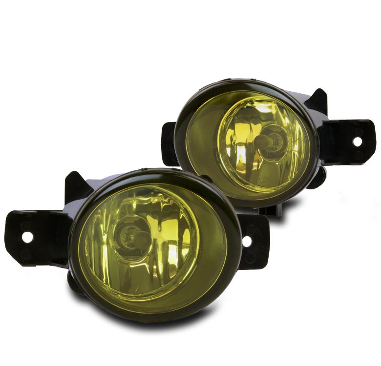 BUMPER DRIVING FOG LIGHTS LAMP YELLOW FOR SENTRA MAXIMA ...