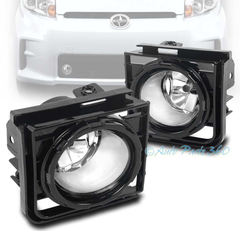 2011 Scion Xb Aftermarket Parts: 11-15 SCION XB BUMPER DRIVING CHROME CLEAR LENS FOG LIGHT