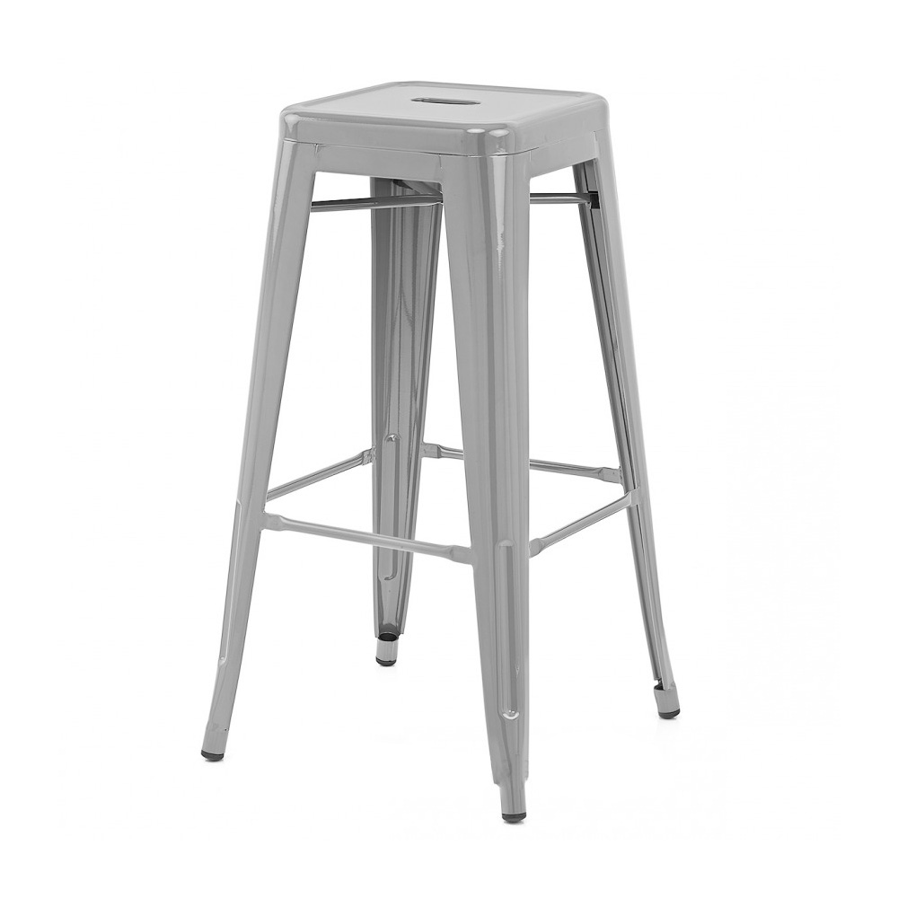 Retro Kitchen Bar Stools New Modern Steel 30034 Barstool Counter Retro Tolix Style