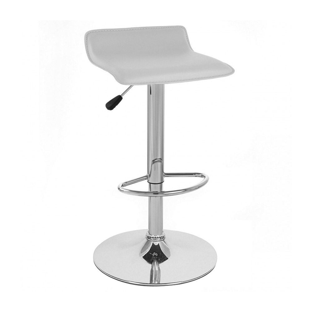 LEATHER BARSTOOL ADJUSTABLE SWIVEL ADJUSTING BAR STOOL  : sigmapvcwhite from www.ebay.co.uk size 1000 x 1000 jpeg 72kB