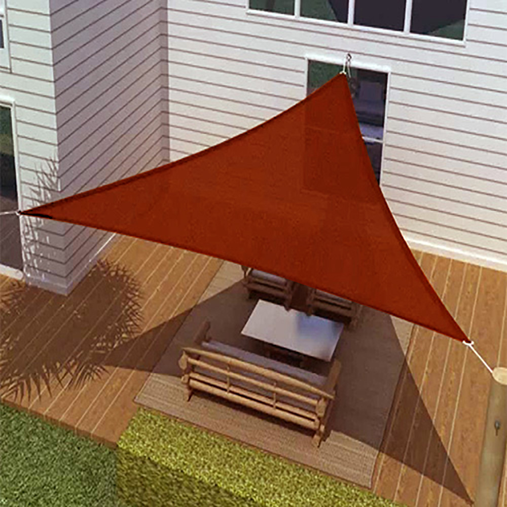 Sun Sail Shade Triangle Canopy Cover Outdoor Patio
