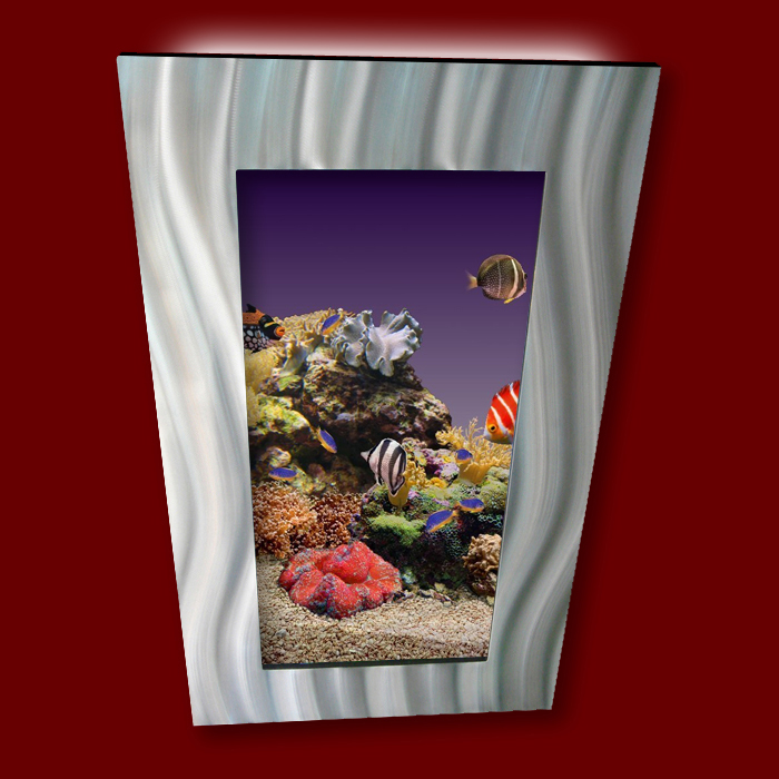 new aussie aquarium vertical wall mounted fish tank ebay. Black Bedroom Furniture Sets. Home Design Ideas