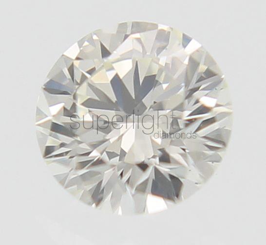 Superlight Diamonds 0.10 Carat E Color VS1 Round Brilliant Buy Loose Diamond For Jewelry 2.99MM at Sears.com
