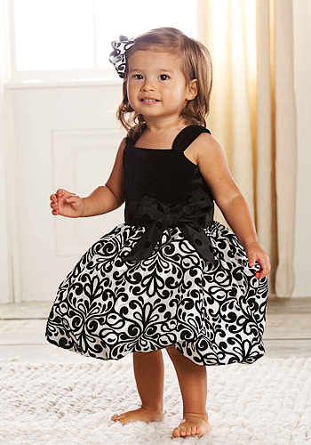 Mud-Pie-Baby-DAMASK-PARTY-DRESS-167216-Diva-Collection-Holiday