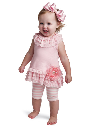 Mud Pie Baby DRESS AND PLAYGROUND SHORTIES 361001 Baby Buds Collection