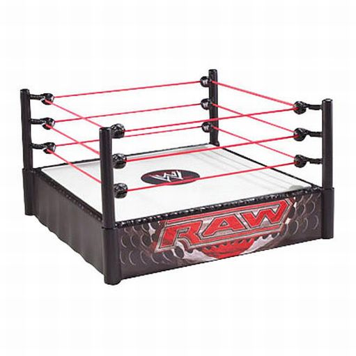 WWE World Wrestling Raw Superstar Ring Spring Loaded Mat Pro-Tension Ropes at Sears.com
