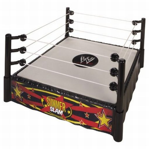 WWE World Wrestling Summer Slam Superstar Ring Spring Load Mat Pro-Tension Rope at Sears.com