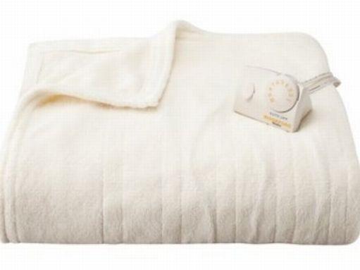Biddeford Blankets Biddeford Ivory Heated Micro Plush Warming Blanket Full Bed Electric Blanket at Sears.com