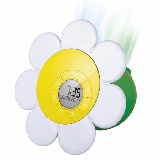 Discovery Kids Daisy Bloom Projection Alarm Clock Flower Projects Images at Sears.com