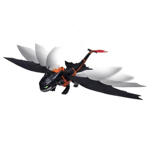 """Dreamworks Dragons Giant Fire Breathing Toothless Dragon 22"""" Wingspan Steam at Sears.com"""