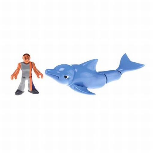 Imaginext Fisher Price Imaginext Ocean Dolphin and Figure Set at Sears.com