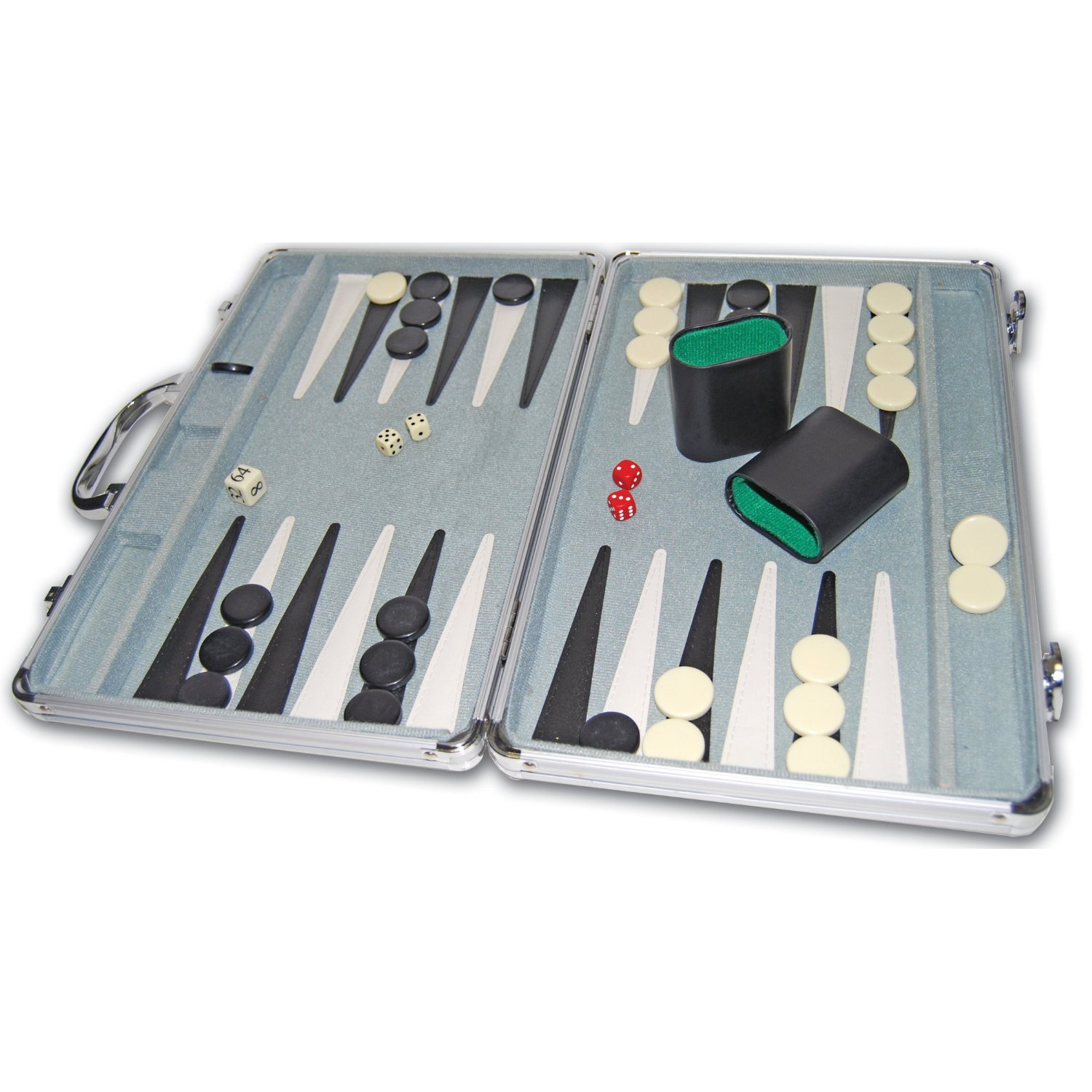 Cardinal Supplies Deluxe Backgammon Game Durable Aluminum Case at Sears.com