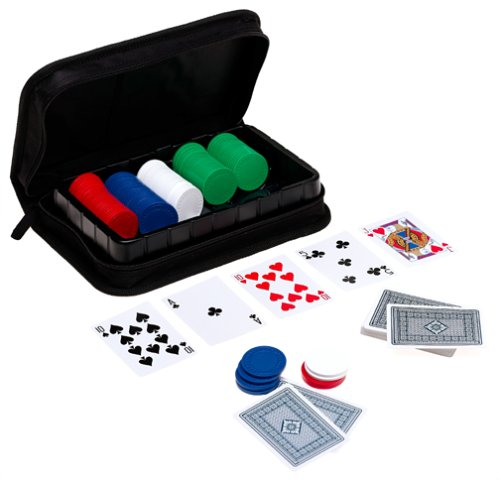 Cardinal Supplies Cardinals Texas Hold Em Tournament Poker Set in Case with Chips Game at Sears.com