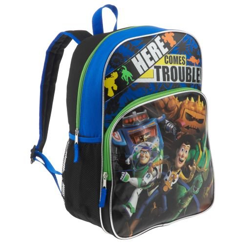 Disney Toy Story Buzz Lightyear & Woody Here Comes Trouble Backpack Travel Back Pack at Sears.com