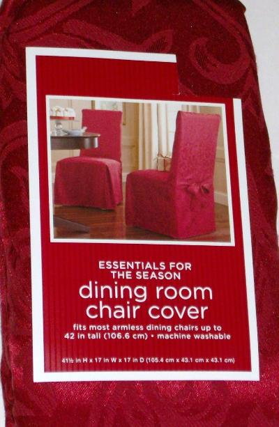rich red dining room chair cover brocade slipcover ebay