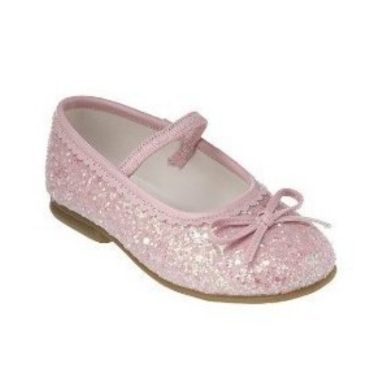 circo toddler pink glitter dress shoes jalisa ballet