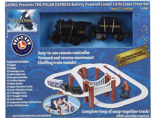 Lionel Trains Lionel Polar Express Little Lines Railroad Complete Loop Train Set Battery Power at Sears.com