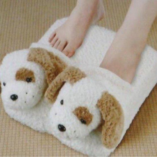 Animal Shape Foot Massager Puppy Dog Cushion Massage eBay
