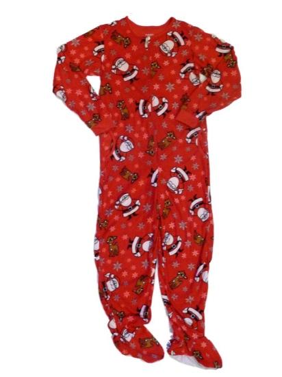 Rudolph Womens Red Rudolph Footie Pajamas Blanket Sleeper Union Suit Santa PJs at Sears.com