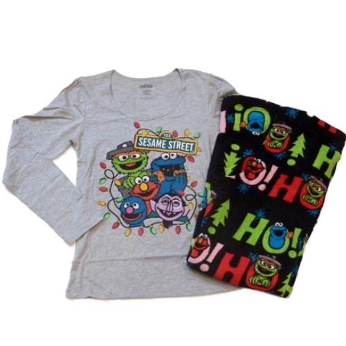 Sesame Street Womens Elmo Pajamas Fleece Sleep Lounge Pants PJs Bottoms T-Shirt at Sears.com