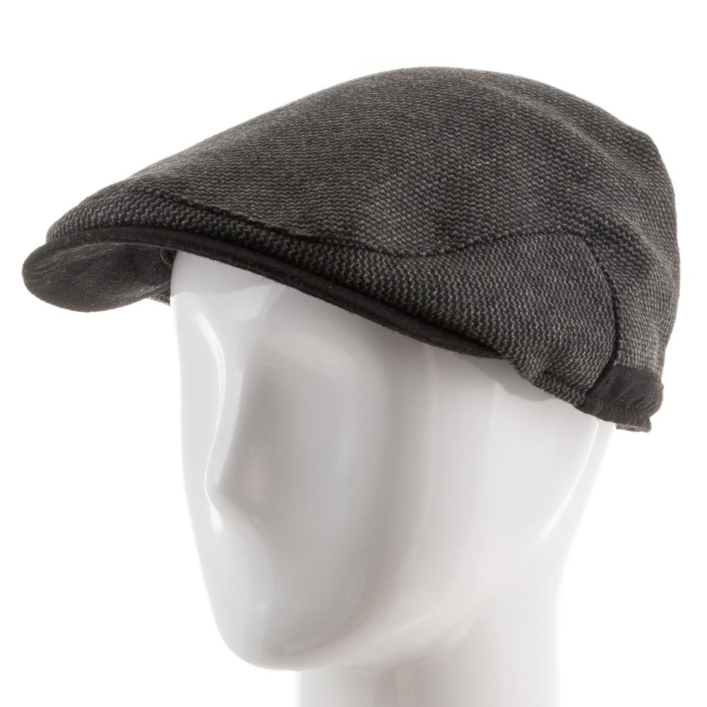 Scottish Wool Ivy Newsboy Cap Fleece Ear Flaps