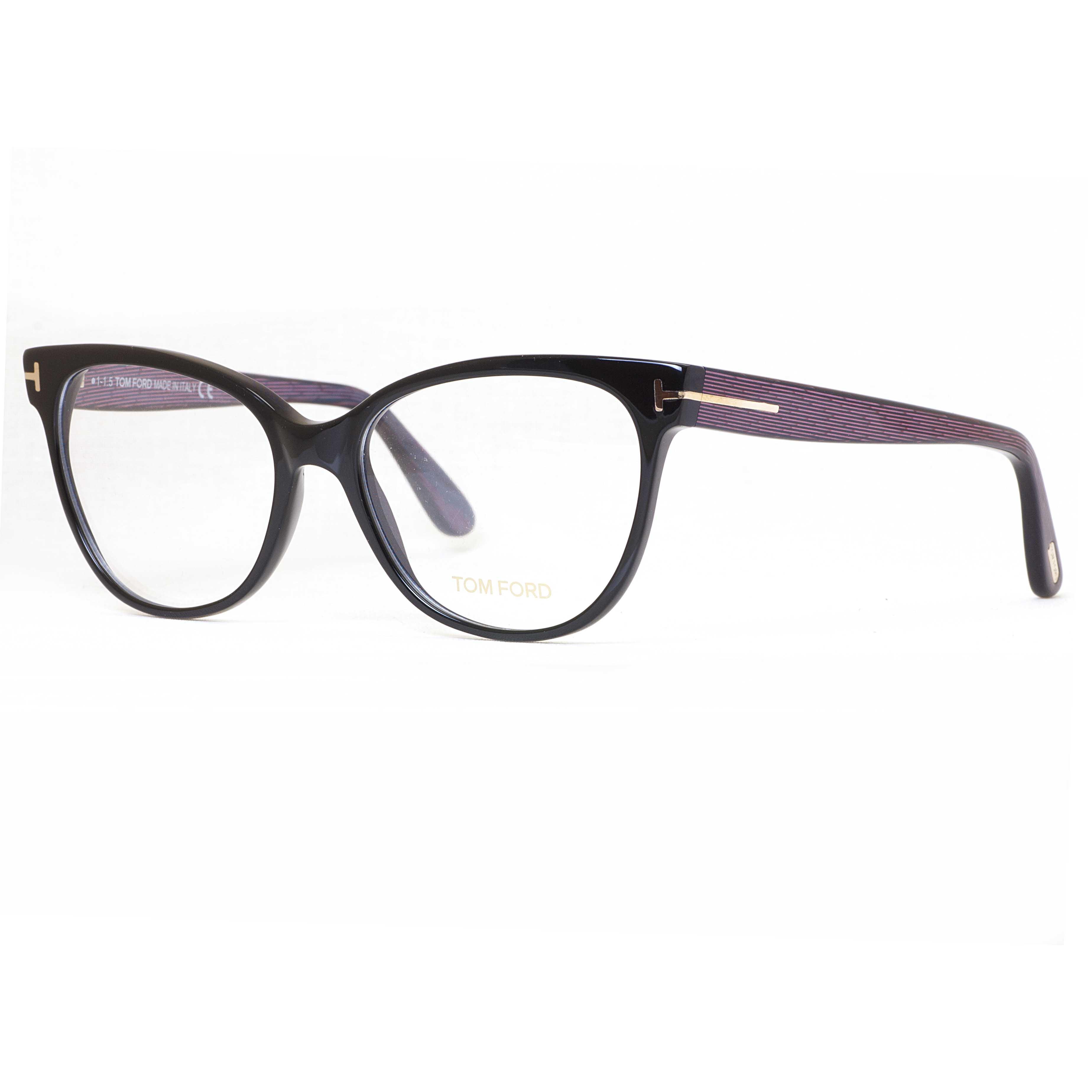 Tom Ford TF 5291 005 55mm Black Blue/Purple Stripes Cat ...