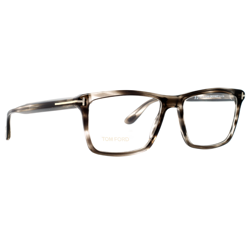 Tom Ford TF 5407 005 54mm Clear Smoke Gray Havana ...