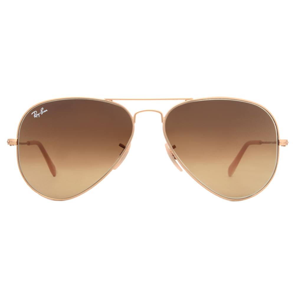 rb 3025 rayban  Ray Ban RB 3025 112/85 Gold Brown Gradient Aviator Sunglasses