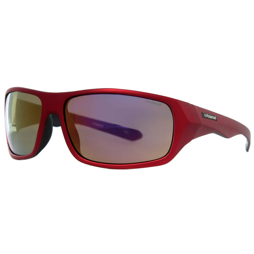 Polaroid Mens Polarized Feather Weight Sport Sunglasses