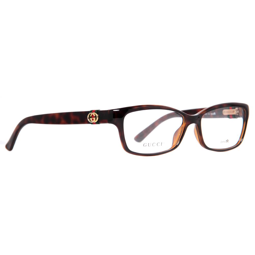 Gucci GG 3647 DWJ 53mm Havana Brown Womens Eyeglasses ...