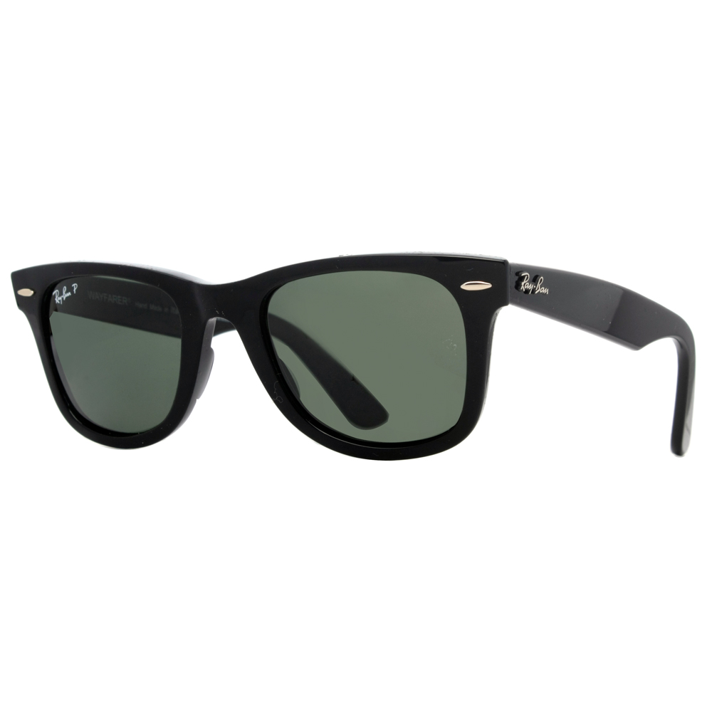 ray ban polarized unisex wayfarer sunglasses ebay. Black Bedroom Furniture Sets. Home Design Ideas