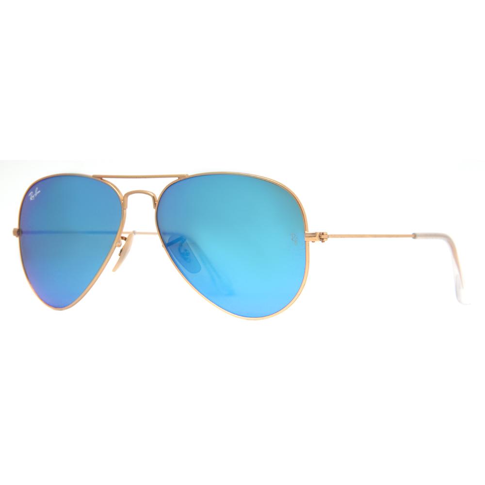 ray ban rb 3025 mirrored flash lens unisex aviator sunglasses ebay. Black Bedroom Furniture Sets. Home Design Ideas
