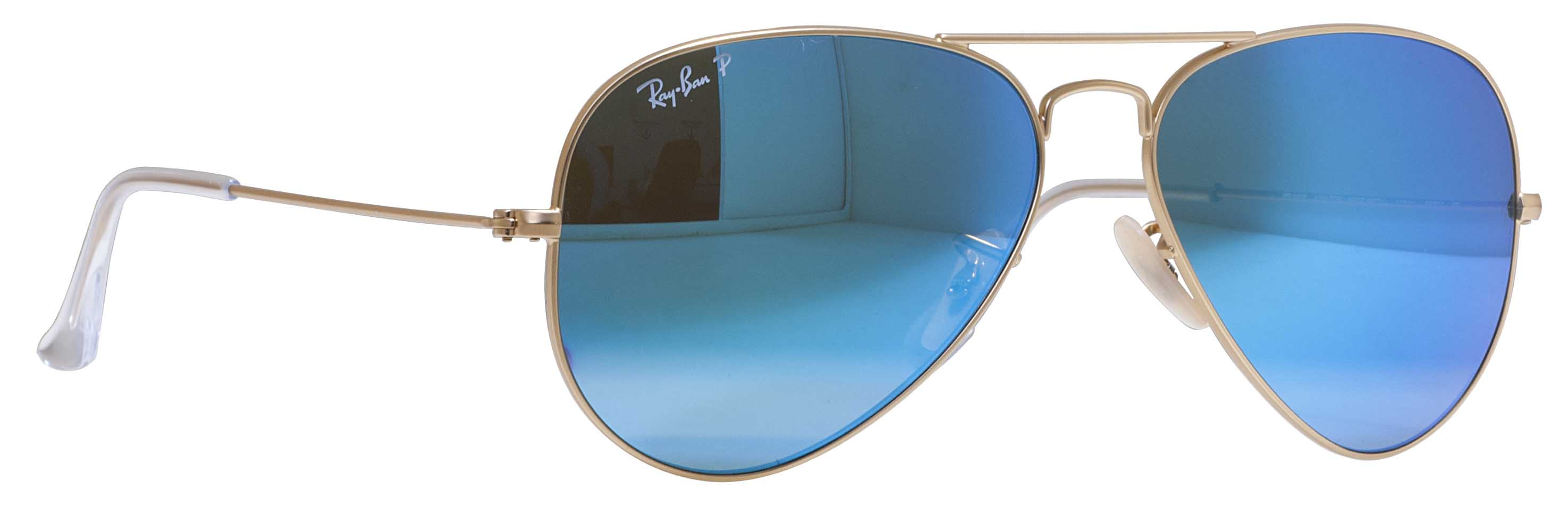 blue aviator ray bans  ray ban rb 3025 112/4l