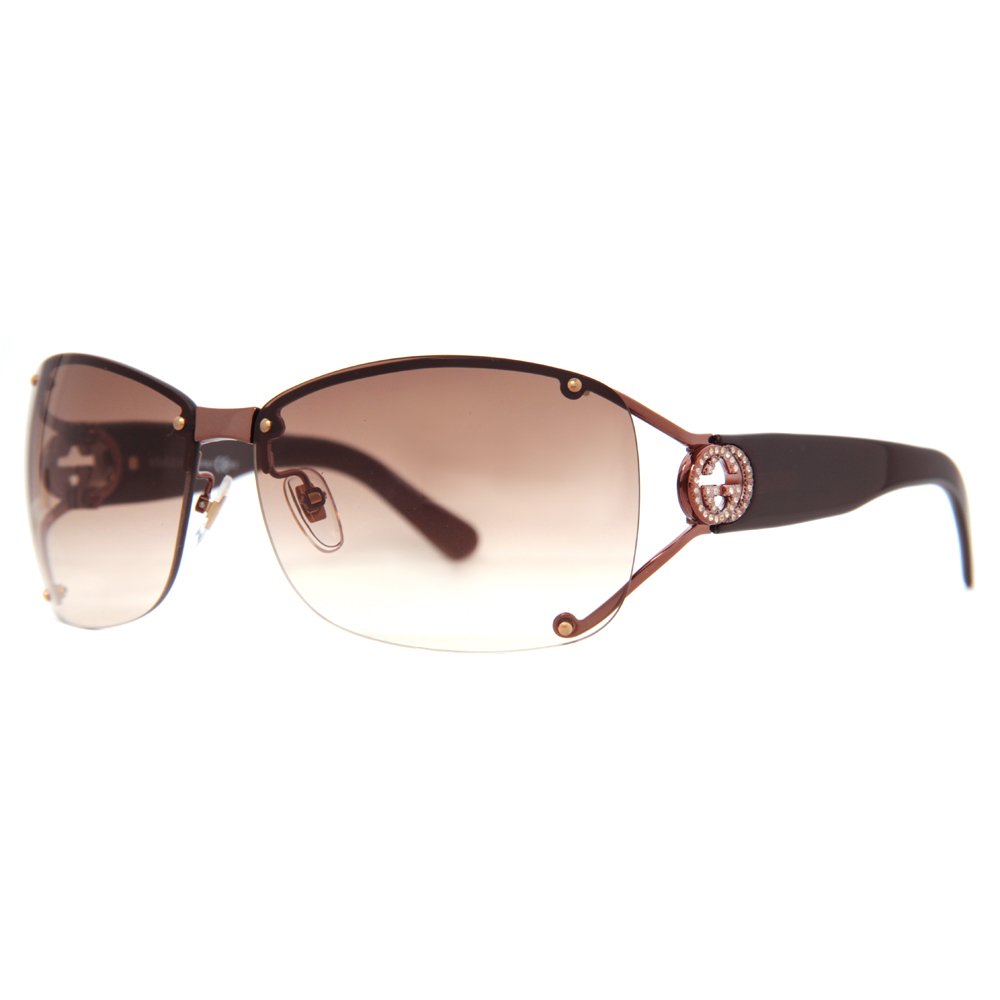 Gucci Rimless Glasses : gucci women s rimless sunglasses BOFI MENA