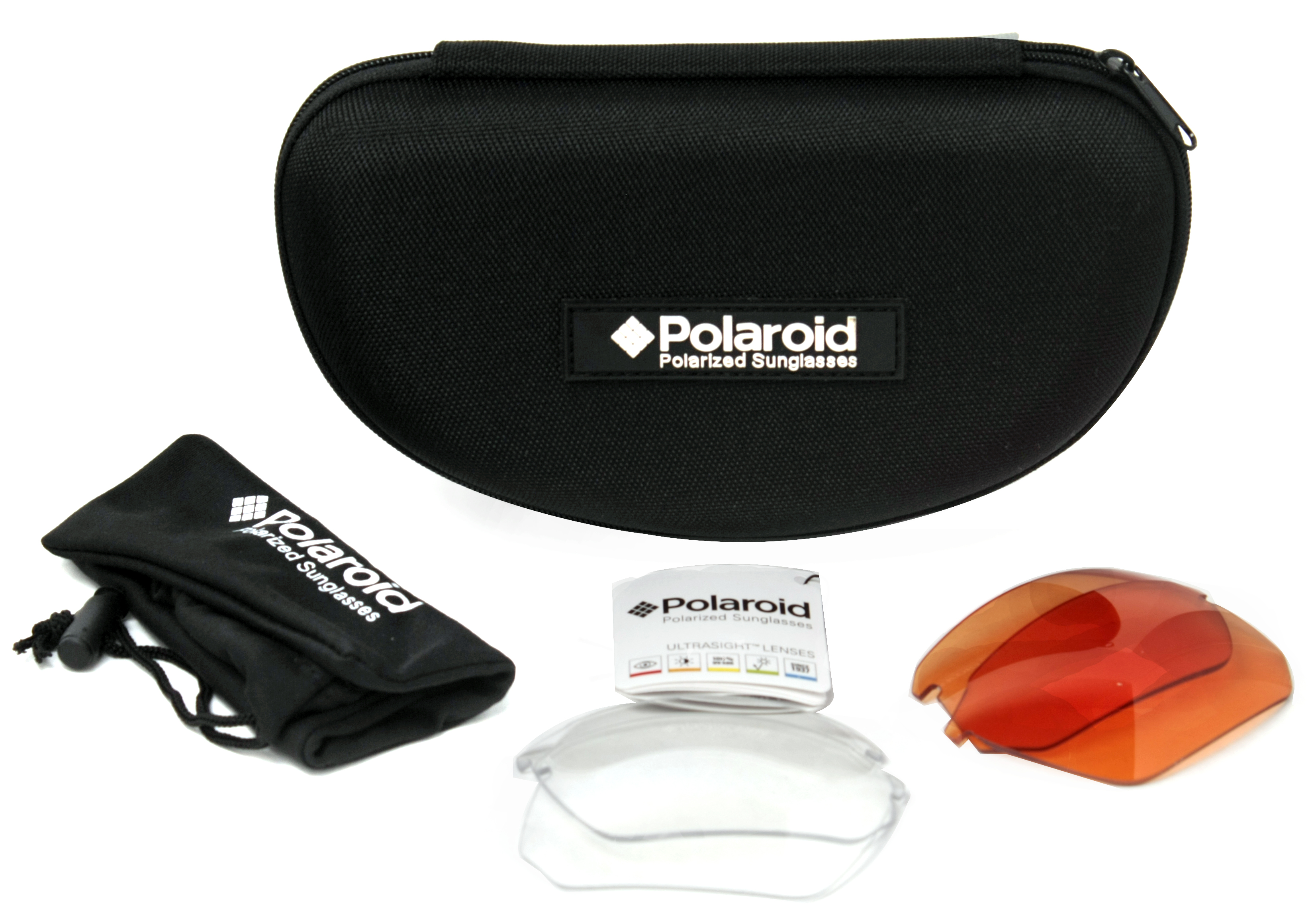sports sunglasses with interchangeable lenses  Polaroid 7422/s Men\u0027s Polarized Sports Sunglasses w ...