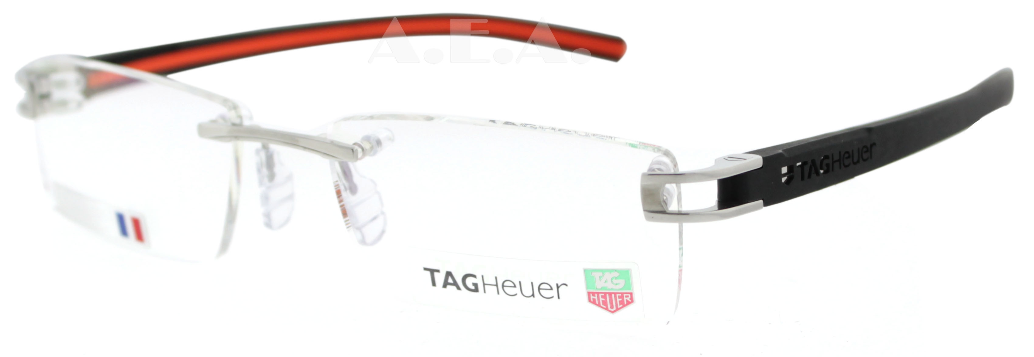 Tag-Heuer-Track-TH-7641-004-Black-Orange-Eyeglasses