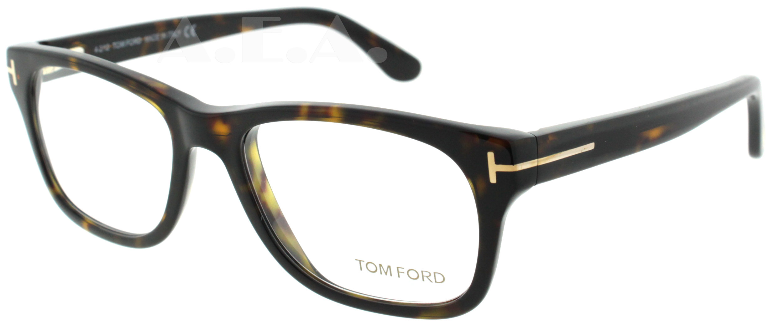 tom ford tf 5147 052 brown tortoise 52mm