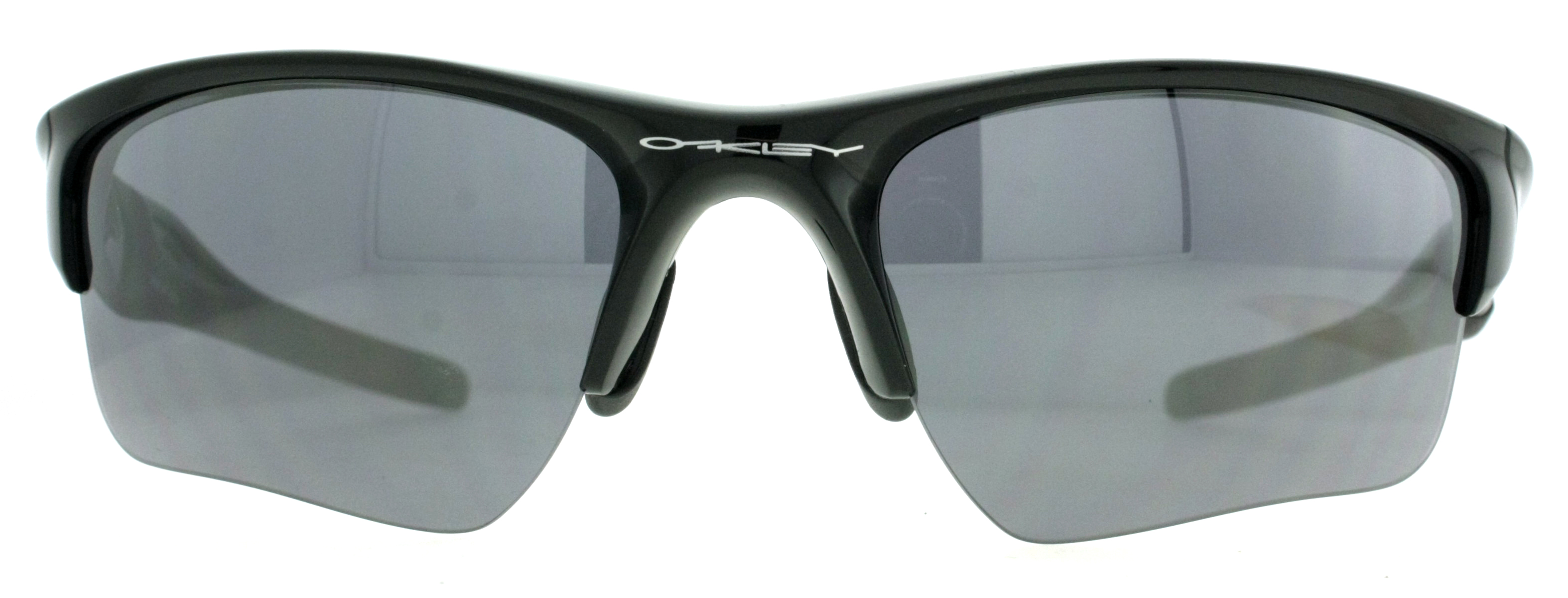 white and black oakley sunglasses  polished black