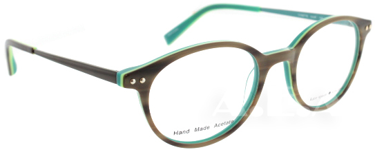kate spade ks cosette 0jur brown green blue eyeglasses