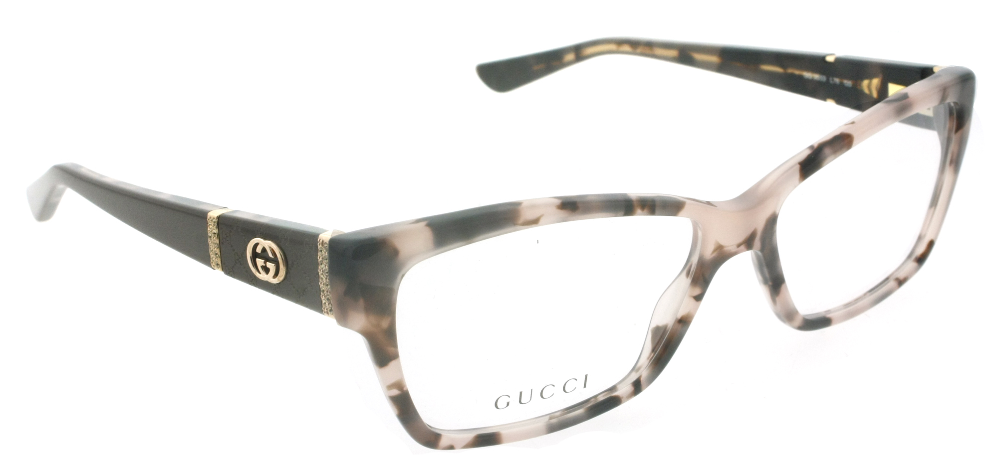 Gucci Eyeglass Frame 3559 : Gucci GG 3559 L76 Havana Rose/Brown Womens Rectangular ...