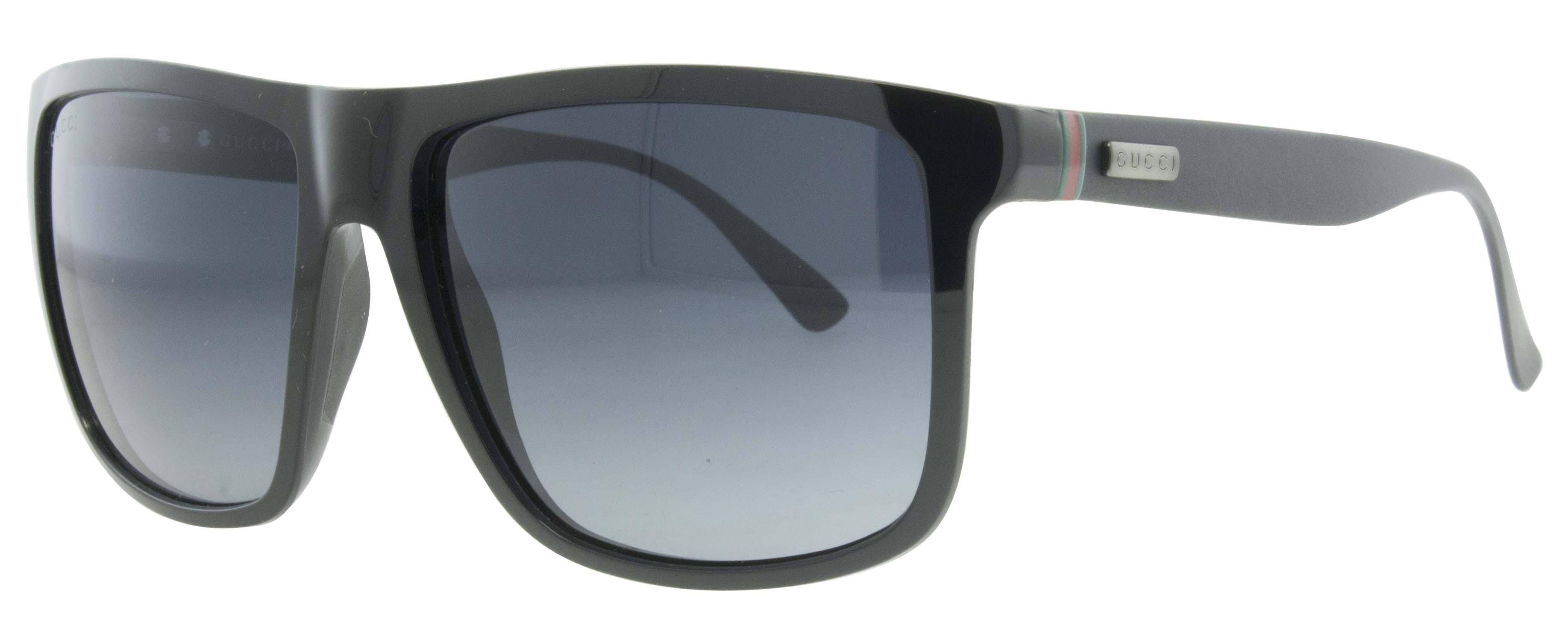 gucci gg 1075 s gvb hd matte black wayfarer men 39 s sunglasses. Black Bedroom Furniture Sets. Home Design Ideas