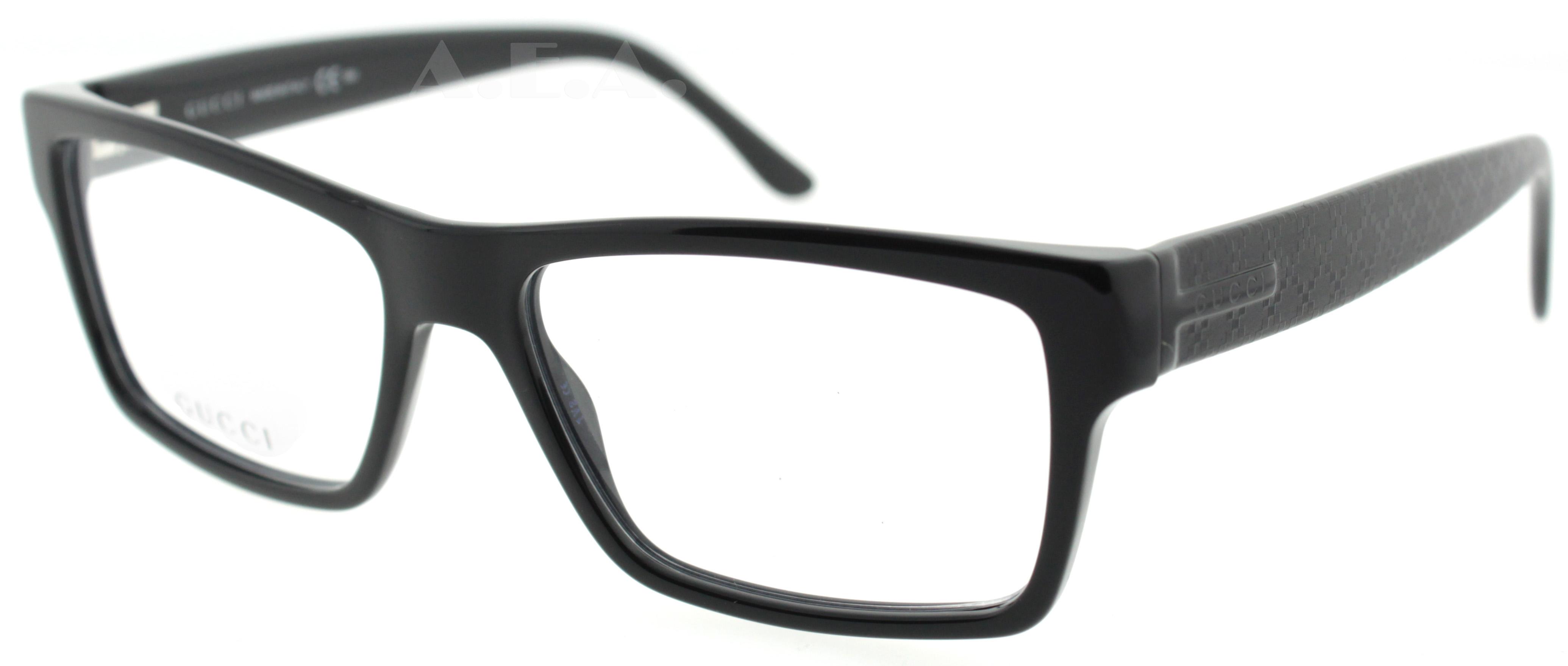 Gucci Frames For Mens Glasses : Gucci GG 1022 Black 807 Gg1022 MenS Eyeglasses eBay