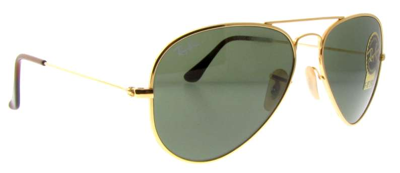 ray ban arista gold aviator  ray ban rb 8041 001 gold