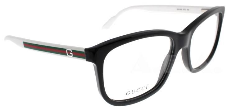 White Gucci Eyeglass Frames : GUCCI GG 1635 RT2 BLACK/WHITE DESIGNER GG1635 EYEGLASSES ...