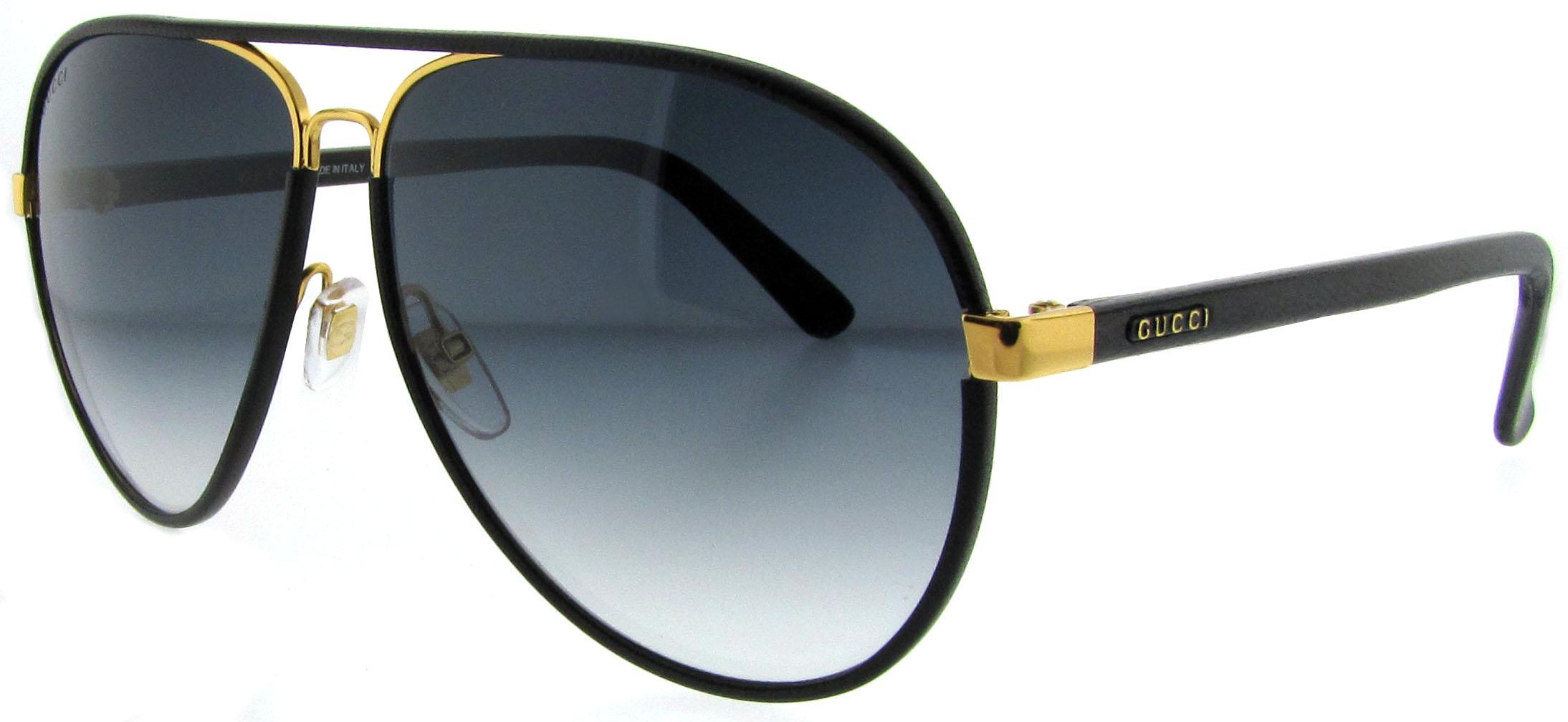 aviator sunglasses polarized  leather aviator