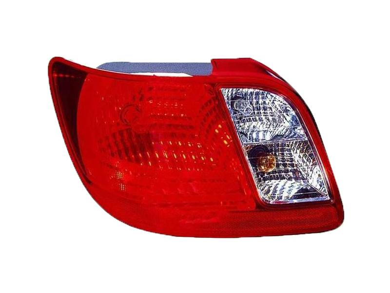 Fits Kia Rio Sedan 06 07 08 09 10 11 Rear Tail Light Lamp