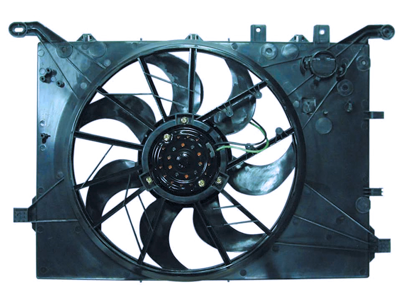 TYC VOLVO S60 V70 XC70 01-03 S80 from VIN CH116811 RADIATOR AC CONDENSER COOLING FAN at Sears.com